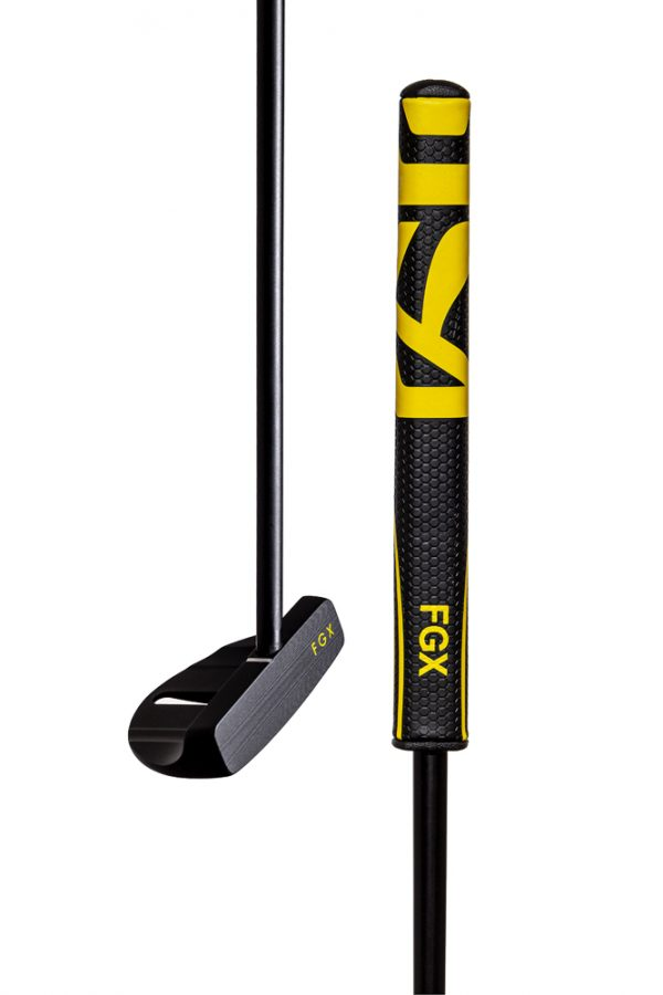 Innovative FGX putter with enhanced grip