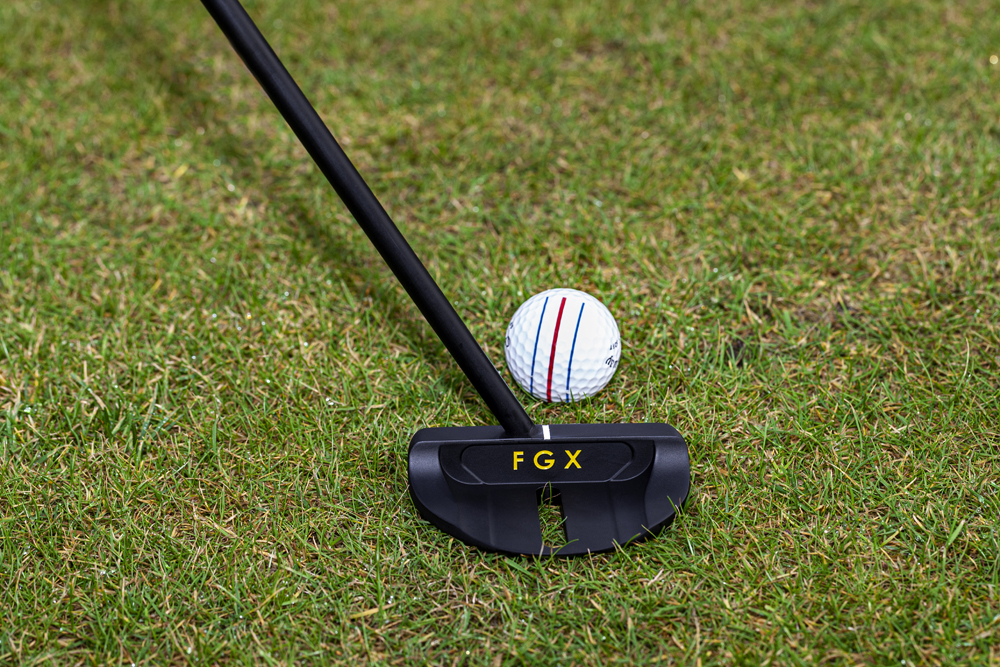 Buy revolutionary long shaft hybrid putter online from the makers FGX