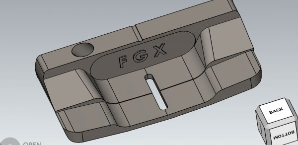Innovative new hammer style head putter by FGX